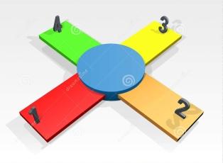 plantilla-con-cuatro-opciones-36283963